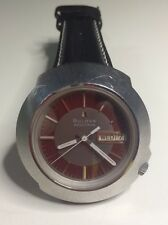 Rare Vintage 1970 Bulova Accutron Wristwatch Men's Watch Stainless Steel 2182