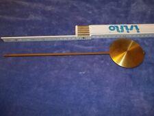 altes Uhrenpendel für Regulator/Freischwinger/Gewichtsregulator/Pendeluhr #3
