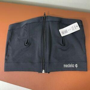 Medela / Easy Expression Hands Free Pumping Bustier Bra / Black / Size L Large