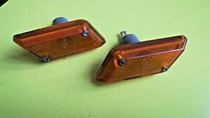 Turn signal repeaters Sidelight turn signal new USSR for LADA 2103, 2pc.