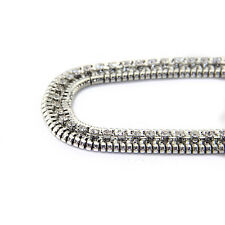 Silver Diamante/Diamond Ladies Waist Chain/Charm Belt - One Size Fits All - 566