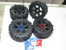 YY X-MAXX 8S TRUCK LOSI 5IVE TIRES USE MADMAX ADAPTER FOR X-MAXX