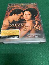 ORIGINAL SIN BANDERAS AND ANGELINA JOLIE DVD NEW SEALED FREE SHIPPING