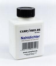 Nahtdichter 100ml mit Pinsel Versiegelung wasserdicht für Zelt und Stoff-Nähte
