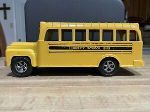 Vintage Hubley School Bus Made In USA