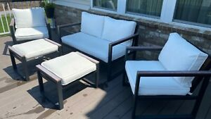 used outdoor patio furniture set
