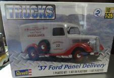 NEW FACTORY SEALED 1937 Revell 1/25 Ford Panel Delivery Model Kit #85-4930