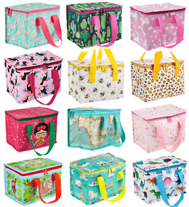 Sass & Belle Childrens Adults Lunch Bags Insulated Cool Bag School Lunch Box