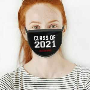 Personalised Washable Reusable Designed Face Mask Cover Covering- Text message