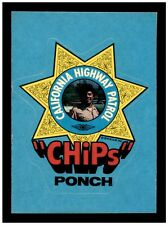 1979 Donruss Chips PONCH Sticker