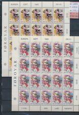 Xc74942 Faroe Islands 1985 Europa Cept music sheets Xxl Mnh cv 110 Eur