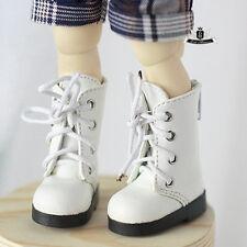 1/6 BJD Shoes Yosd White Boots Dollfie DREAM DOD SOOM MID Luts Dollmore DZ Shoes