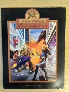 World of Synnibarr The Ultimate Adventurer's Guide Raven McCracken Rare Guide