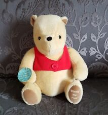 """Golden Bear Large 12"""" Musical Classic Winnie The Pooh RARE New Baby Gift BNWT"""