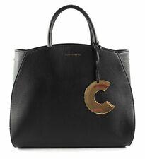 COCCINELLE Concrete Handbag Handtasche Umhängetasche Tasche Noir Schwarz