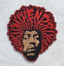 Jimi Hendrix Hey Joe Fire Embroidered Iron On Sew Patch Woodstock Sixties Music