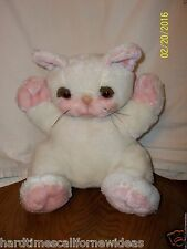 Sunburst Pets Off White Cat Plush 1983