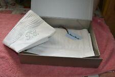 parure de lit monogramme blanche neuve tartine et chocolat offre  boite cadeaux