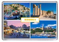 Rhodes, Greece Fridge Magnet 01