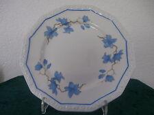Rosenthal MARIA WEISS blaue Blätter Kuchenteller   D. 20 cm