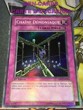 OCCASION Carte Yu Gi Oh CHAINE DEMONIAQUE ABPF-FR064 1ère édition