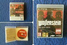 Wolfestein The New Order PS3 ITA PAL ECCELLENTE!!!!