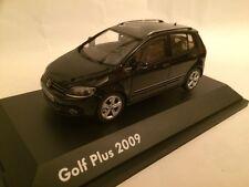 VW Golf Plus schwarz 1:43 Minichamps/VW neu & OVP