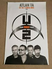U2 Scarce 360 Degrees Tour Oct 2006 Atlanta Ga Georgia Dome 2009 Concert Poster