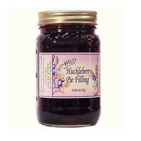 Wild Huckleberry Pie Filling from Huckleberry Haven, 20 oz mug style jar