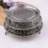 1pc stainless steel steamer rack insert stock pot steam tray stand bake-ware NTH