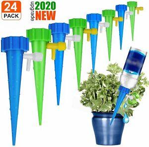 24x Bewässerung für Blumentöpfe Wasserspender Pflanzen Gießhilfe gießen Blumen