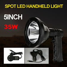 5inch 35W 150MM Cree LED Handheld Hunting Spotlights Rechargeable 12V Spot HID