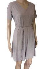 B Young Kurzarm Minikleid Kleid Sommerkleid Gr. L