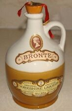 Bronte Liqueur flagon/jug. Decorative ceramic, used/empty.