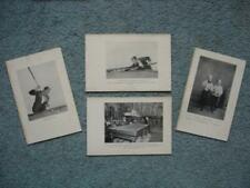 1920's Willie Hoppe Pictures, 4, Masse' (RARE!) <<<