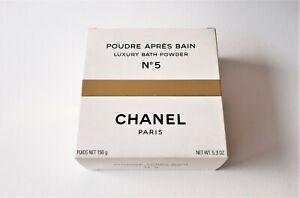 CHANEL No 5 Poudre Apres Bain / Luxury Bath Powder (150 g / 5.3 oz) Vintage