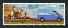 Uruguay 2017 MNH Postal Services 190th Anniv 2v Set Horses Cars Stamps