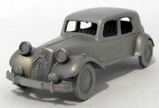Danbury Mint Pewter Model Car Appx 7cm Long DA38 - 1953 Citroen 15 CV