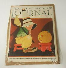 1933 Ladies Home Journal Magazine Cover Autographed Vernon Grant Halloween