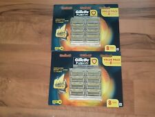 GILLETTE FUSION PROSHIELD 2 PACKS X 8 CARTRIDGES ( 16 BLADES ) FREE EXPRESS POST