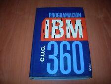 PROGRAMACIÓN IBM C.U.C. 360 - ASCHER OPLER (EDITORIAL LIMUSA-WILEY MÉXICO 1969)