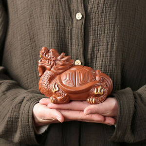 funny turtle dragon statue table decoration house warming gift for tea party new
