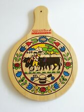 Wooden Hanging Cheese Board - Colorful Appenzeller Switzerland