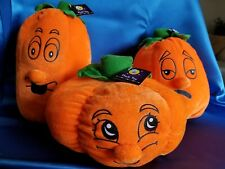 Halloween Plush Soft Toy 3-piece Expressional Pumpkins/Decoration