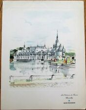 Air France 1962 First Class Menu, Pierre Pages-Signed Cover-Antananarivo/Nairobi