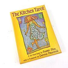 The Kitchen Tarot 22 Card Deck Susan Shie & Dennis Fairchild Guidebook Mythic