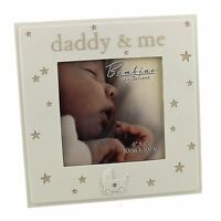 "Bambino Resin Photo Frame 4"" x 4"" ""Daddy & Me""  ideal gift  24402"