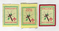 SCOUTS OF TONGA - FO'I'ONE'ONE SCOUT PATCH (3 VAR.)