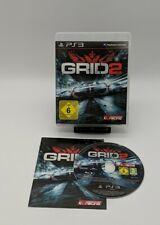 Playstation 3 Game - GRID 2 - Autorennen - gebraucht - getestet - komplett