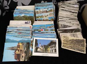Restekarton mit 900 Ansichtskarten aus Bayern, viele ältere